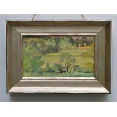 Paul Maze Sussex Landscape painting